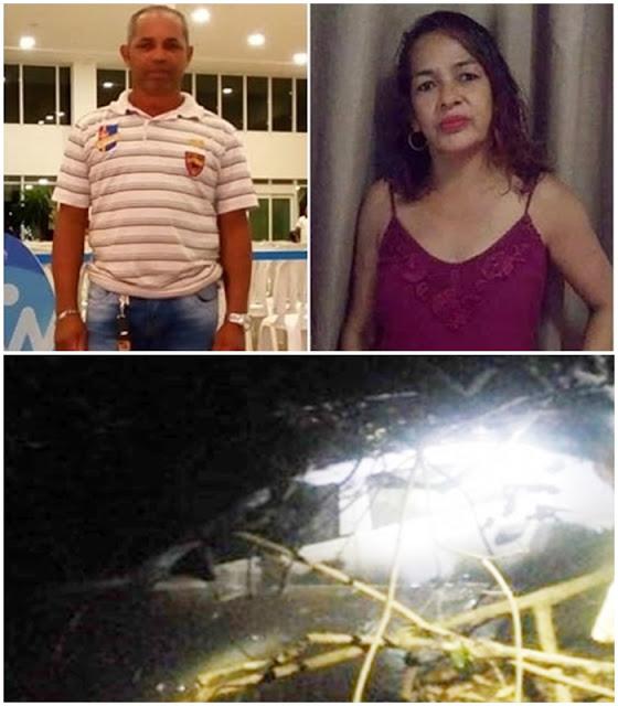 Casal desaparecido na Semana Santa é encontrado morto dentro de carro em riacho, em Caxias