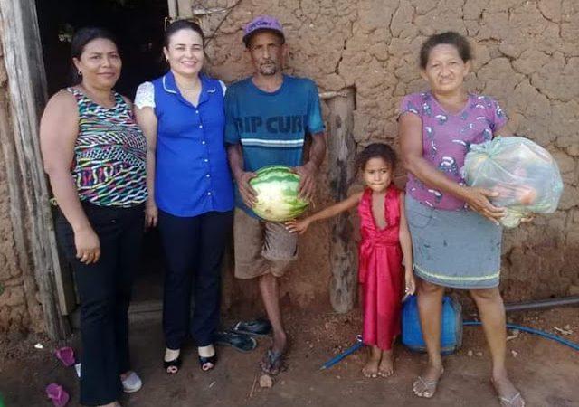 Prefeitura de Duque Bacelar garante entrega de alimentos para familias de baixa renda