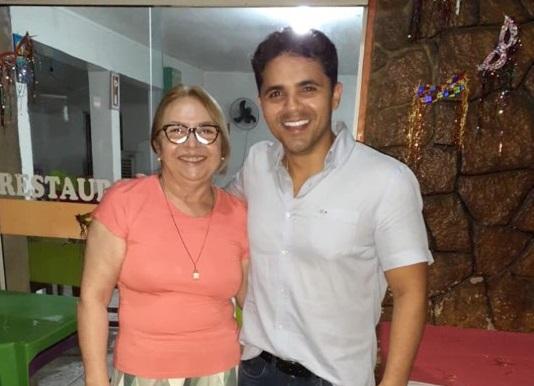 Imagem do dia: Bruno Silva e Márcia Bacelar juntos?