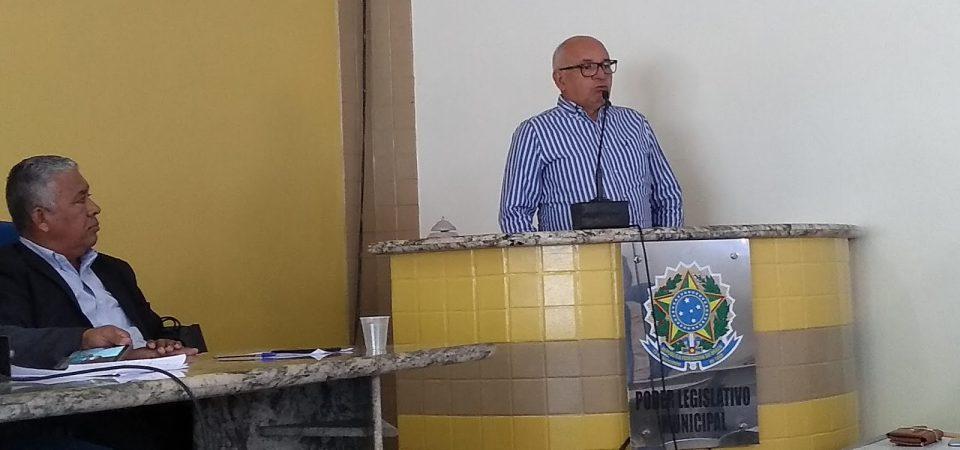 Jorge Oliveira prestigia reinício dos trabalhos da Câmara em Duque Bacelar