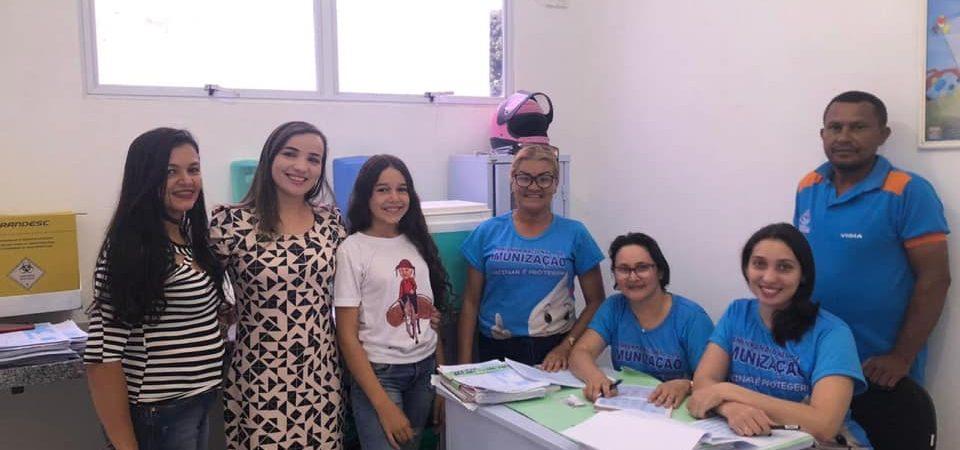 """Prefeitura de Chapadinha realiza Dia """"D"""" da Campanha de Vacinação contra o Sarampo"""