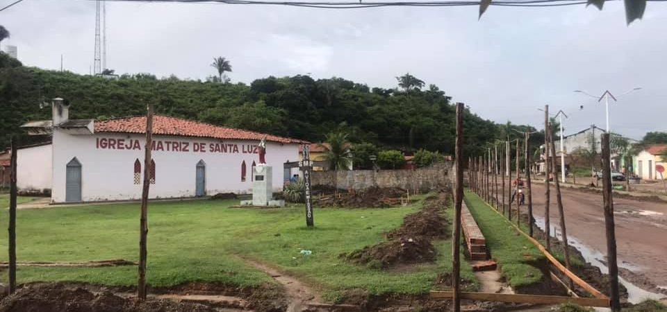 Prefeito de Afonso Cunha autoriza construção da segunda praça no intervalo de um mês