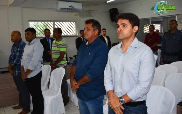 Bruno Silva prestigia Sessão Solene de reabertura dos trabalhos da Câmara de Coelho Neto
