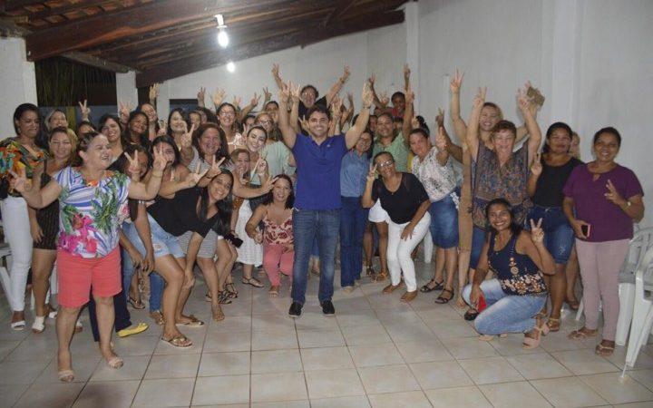 Grupo de Mulheres se reúnem em apoio a pré-candidatura de Bruno Silva