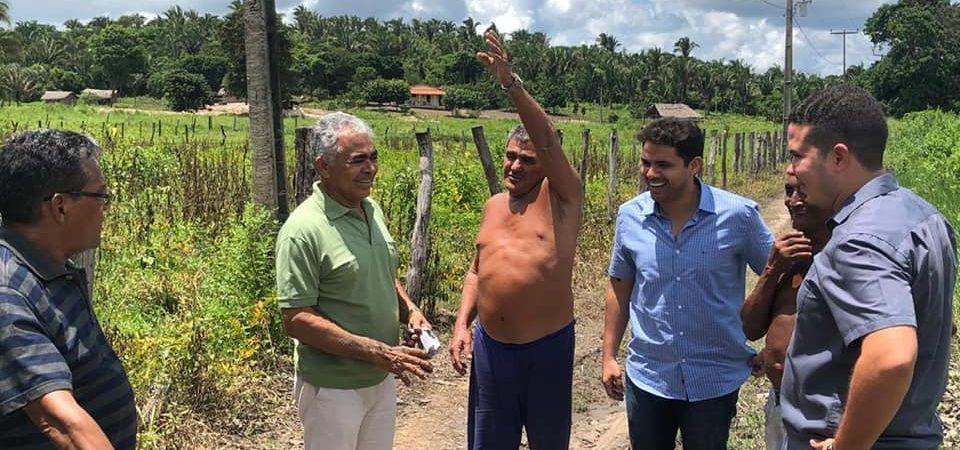 Bruno Silva cumpre agenda em povoados da zona rural
