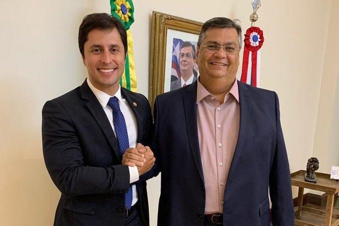 Flávio Dino despacha Duarte Júnior: 'desejo sorte'