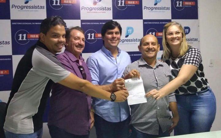 Magno Bacelar prestigia filiação de Talvane Hortegal no PP
