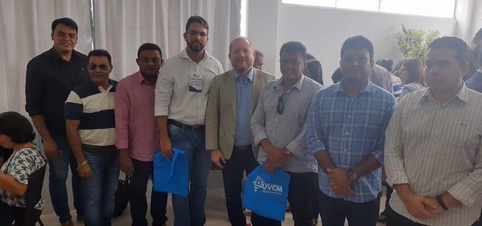 Vereadores de Coelho Neto participam de evento em Bacabal