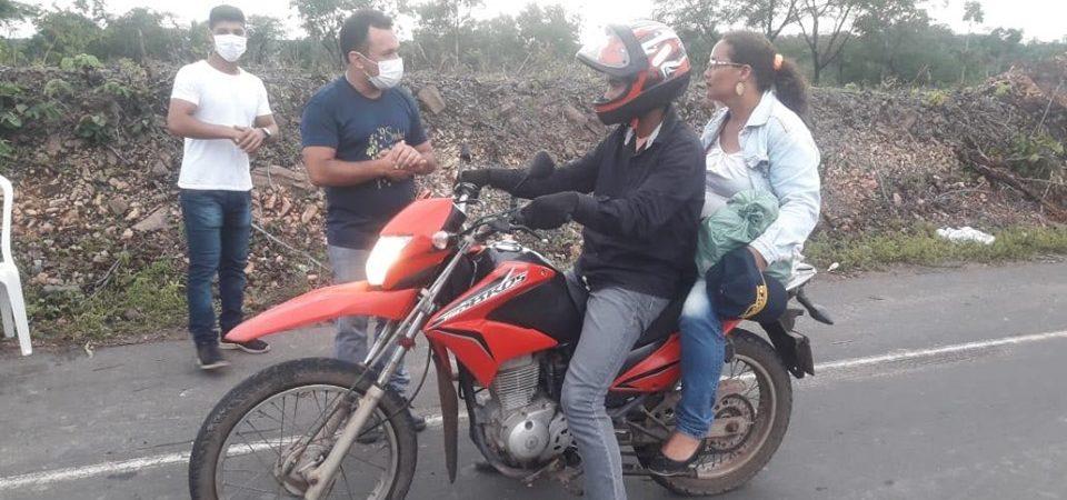 Coronavírus: Prefeitura de Afonso Cunha faz barreira sanitária em entradas da cidade e conscientização na zona rural