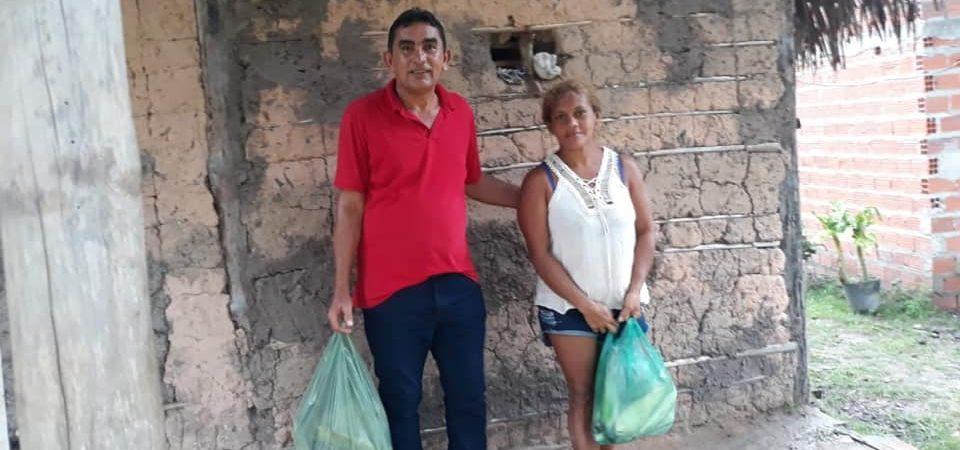 Prefeitura inicia distribuição de alimentos do PAA a famílias de Afonso Cunha