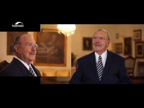 """""""O político mais longevo da nossa história"""", diz Sarney sobre 90 anos"""