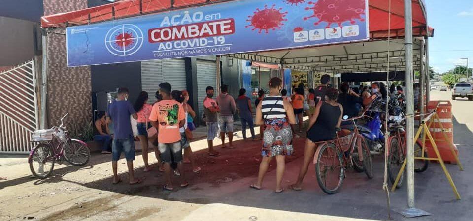 Prefeitura de Chapadinha organiza força-tarefa para evitar aglomeração em Agência da Caixa e Lotéricas