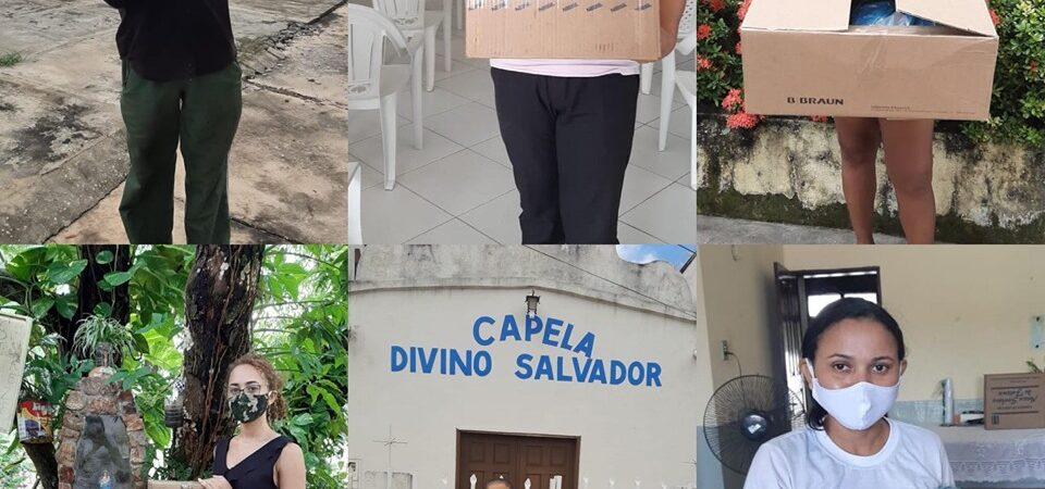 """""""Estamos fazendo a nossa parte"""", diz Soliney sobre mobilização para entrega de máscaras em Coelho Neto"""