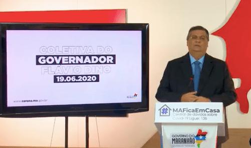 Maranhão terá volta às aulas em 1º de agosto, diz Flávio Dino