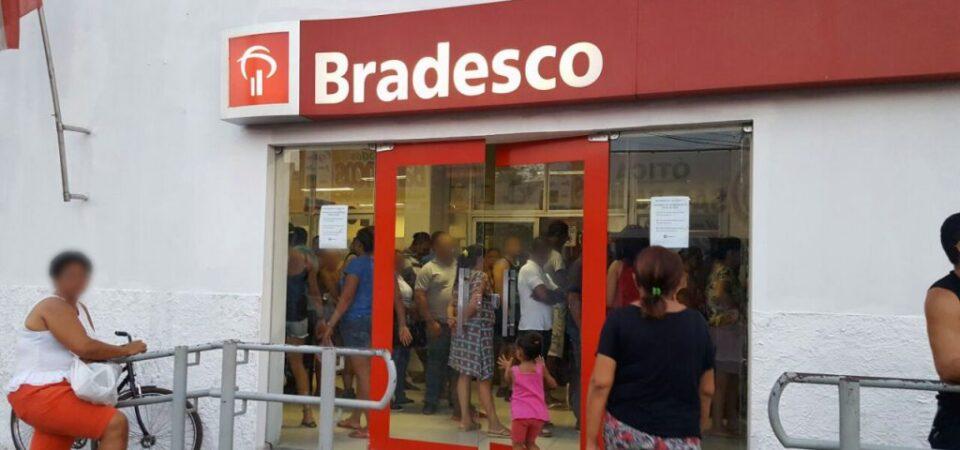 O desrespeito do Bradesco com os servidores públicos em Coelho Neto
