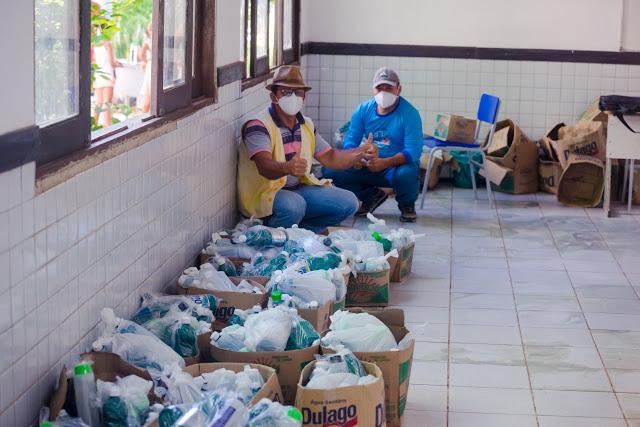 Prefeitura distribui mais 02 (dois) mil kit's de higiene em Duque Bacelar