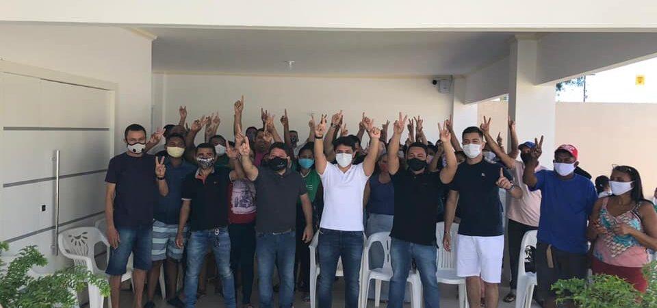 Eleições 2020: Vereador João Paulo realiza reunião política em apoio a Bruno Silva