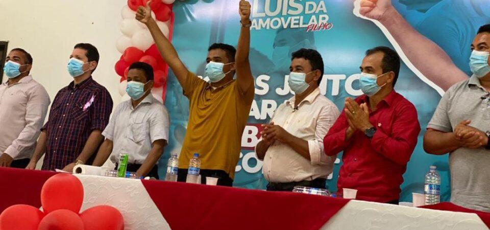 Luis da Amovelar Filho mostra força política na largada da pré-campanha rumo à reeleição