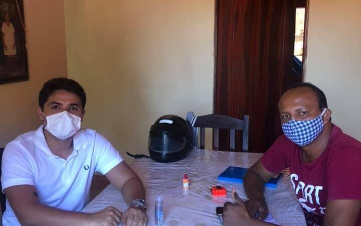 Bruno Silva retoma agenda de visitas e compromissos políticos em Coelho Neto