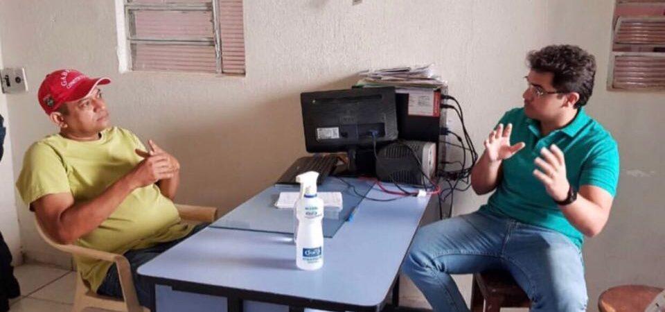 Eleições 2020: Ao receber apoio de empresário, Bruno Silva defende diálogo com comerciantes de Coelho Neto
