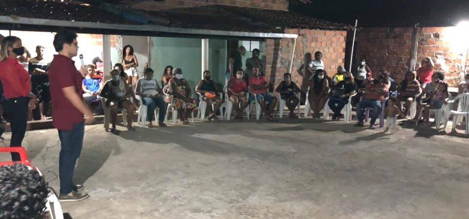 Eleições 2020: Bruno Silva participa de reunião política no Parque Amazonas
