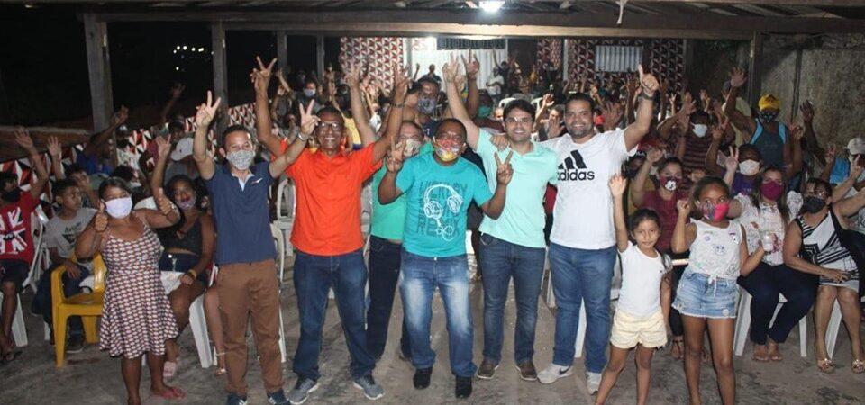 Eleições 2020: Bruno Silva participa do lançamento da pré-candidatura a vereador de Júnior Bezerra