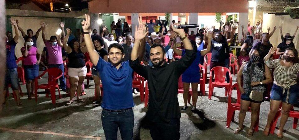 Eleições 2020: Com Bruno Silva, Nailson faz lançamento da pré-candidatura a vereador em Coelho Neto