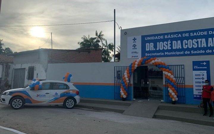Entrega da UBS Fonte do Mato representa mais investimentos na saúde de Chapadinha