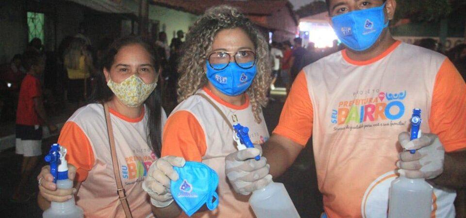 Magno Bacelar entrega obras em Chapadinha e deixa oposição em desespero…