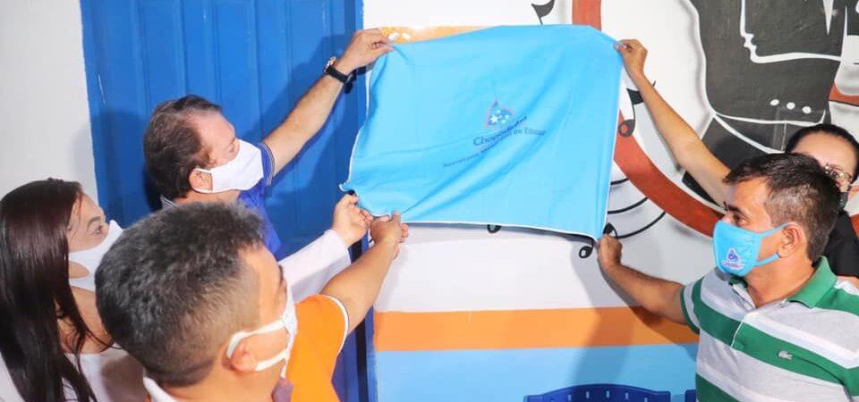 Prefeito Magno Bacelar entrega primeira escola de música de Chapadinha