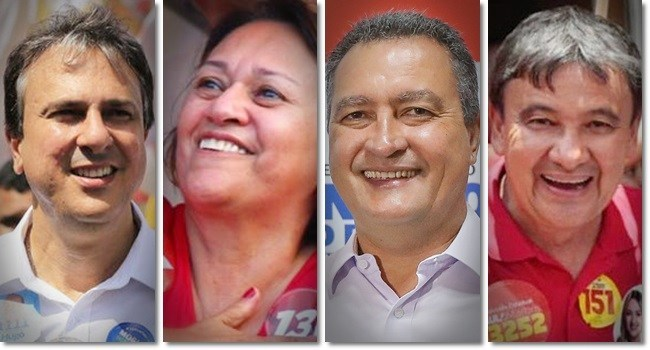 Desespero: Por conta do avanço de Bolsonaro, PT chama na chincha governadores do Nordeste