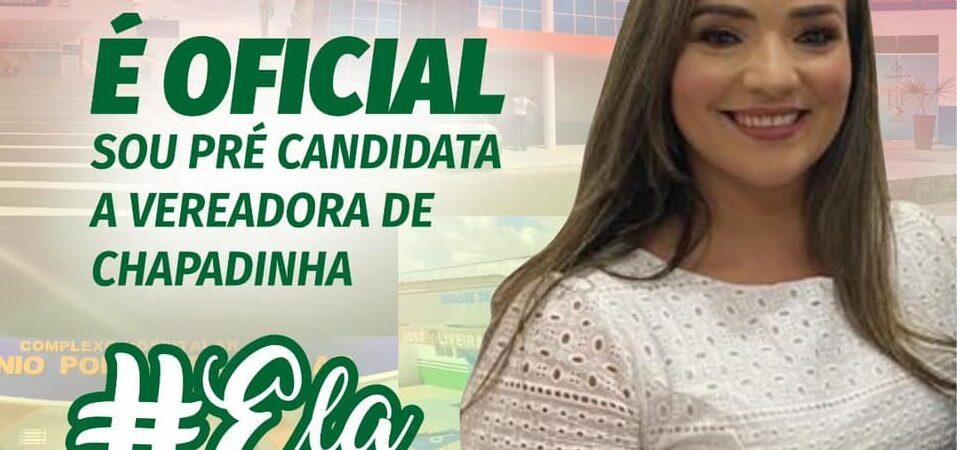 Mônica Pontes confirma pré-candidatura a vereadora de Chapadinha e destaca legado na Saúde