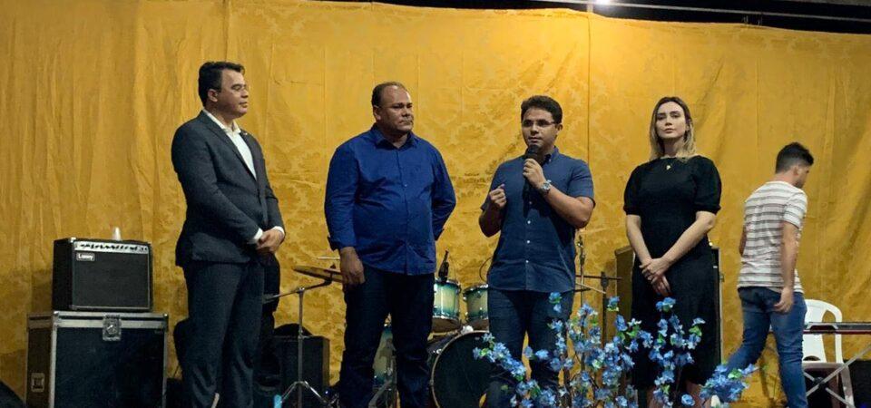 Bruno Silva prestigia evento de jovens da Assembleia de Deus Missão de Coelho Neto