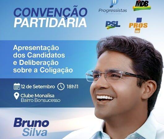 Bruno Silva define Convenção Partidária para o próximo dia 12