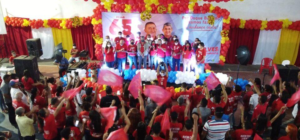 Festa Democrática marca homologação das candidaturas de Luis Sousa e Dr. Gonçalves em Duque Bacelar