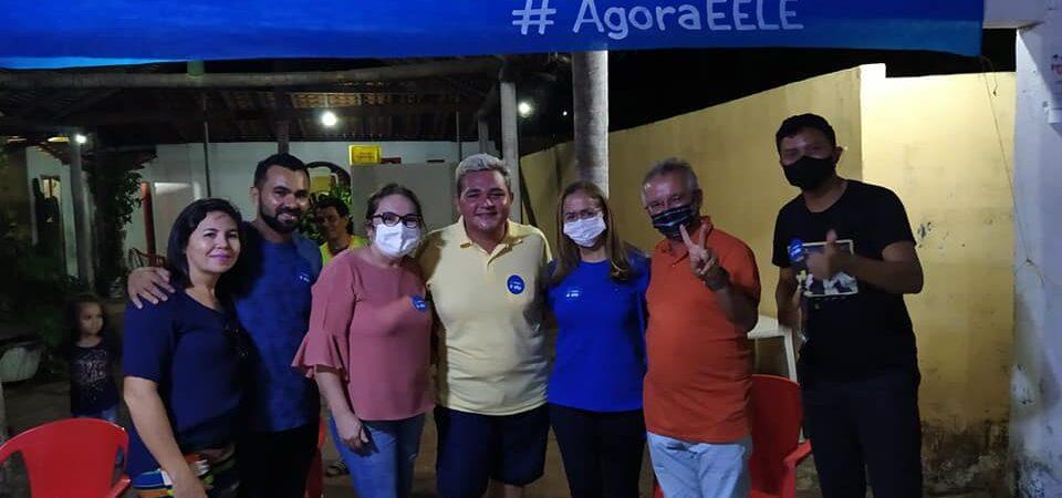 Suely Silva e Márcia Bacelar cumprem agenda conjunta pró-Bruno Silva