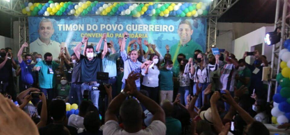 Mudança: Emoção marca convenção de Comandante Schnneyder e Henrique Júnior em Timon