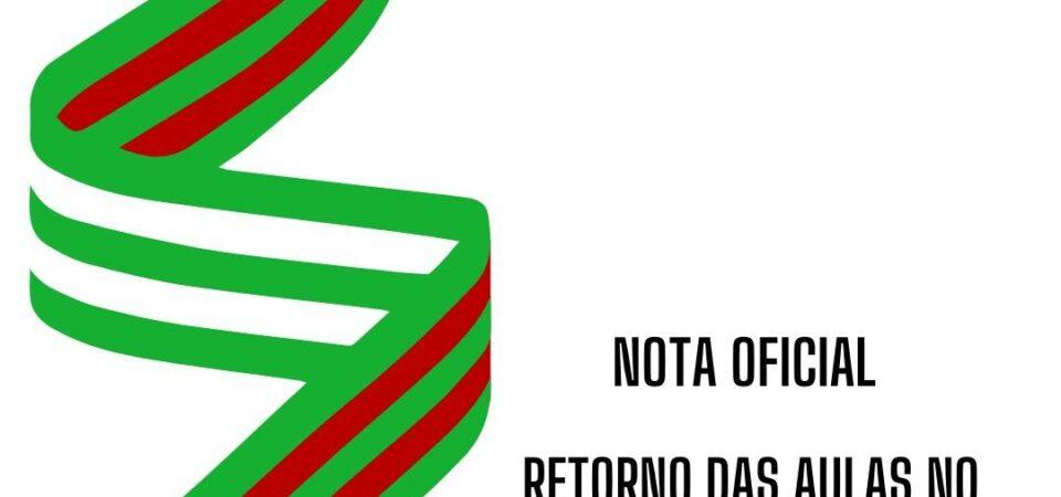 IFMA de Coelho Neto emite nota sobre retorno das aulas no formato não presencial