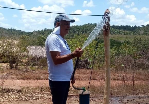 Zona Rural ganha mais um poço artesiano da gestão Jorge Oliveira