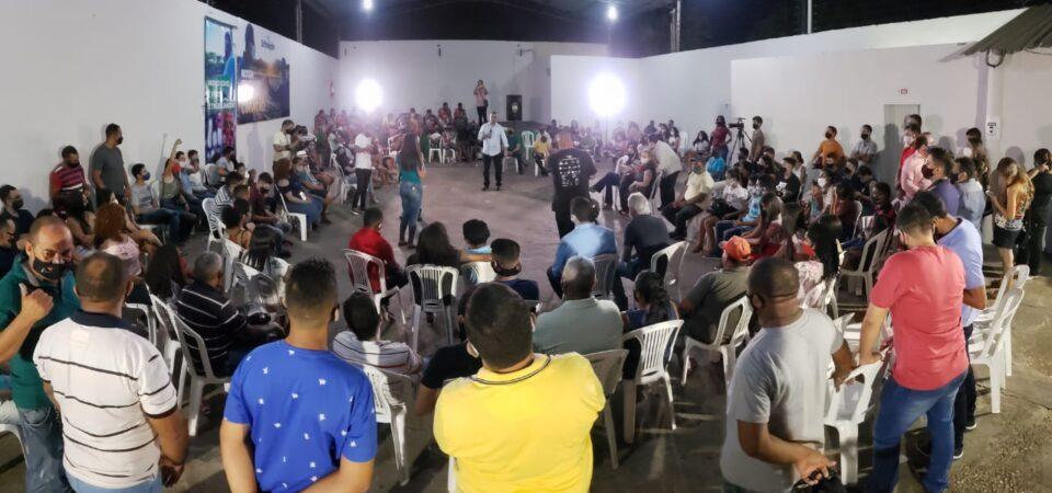 Schnneyder e Henrique Júnior mobilizam jovens em Timon