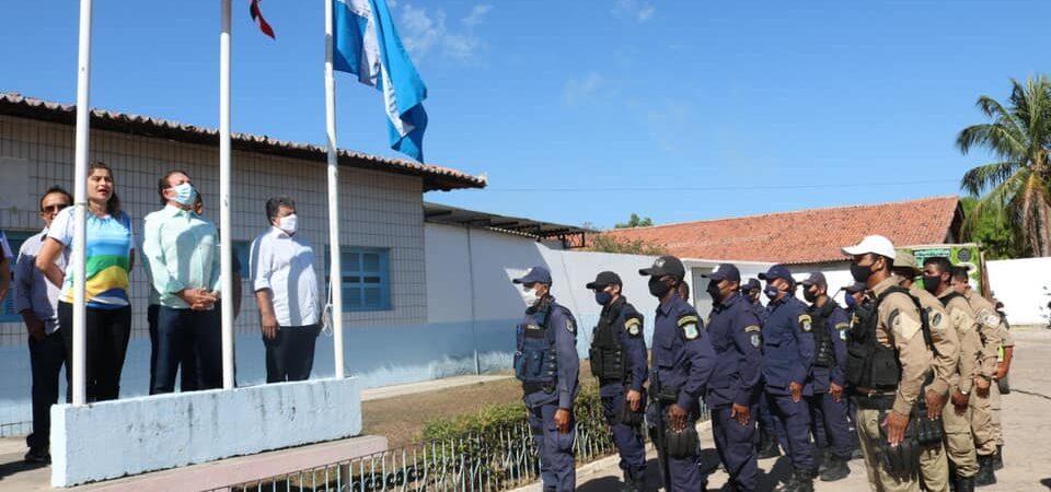 Prefeito Magno Bacelar participa de ato em alusão ao Dia 07 de setembro em Chapadinha