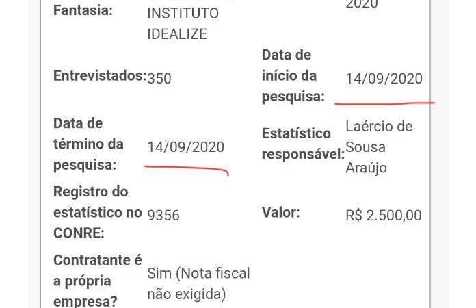 """Pesquisa """"The Flash"""" registrada em Coelho Neto"""