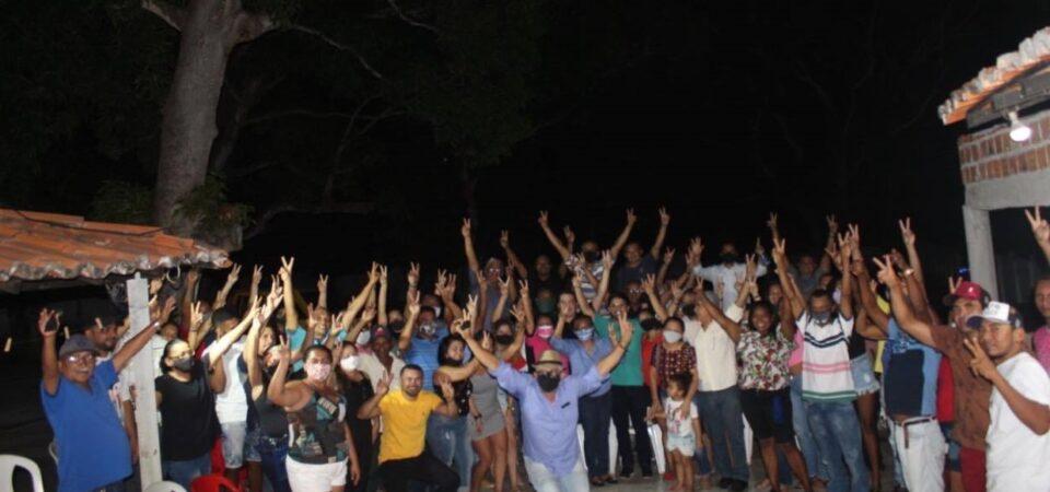 Ao lado de Bruno Silva, Rafael Cruz reúne apoiadores e fortalece projeto em busca da reeleição
