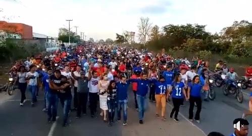 Arquimedes arrasta multidão e é aclamado em Convenção rumo a reeleição em Afonso Cunha