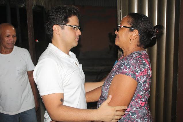 Bruno Silva participa de evento político no Povoado Bananalzinho