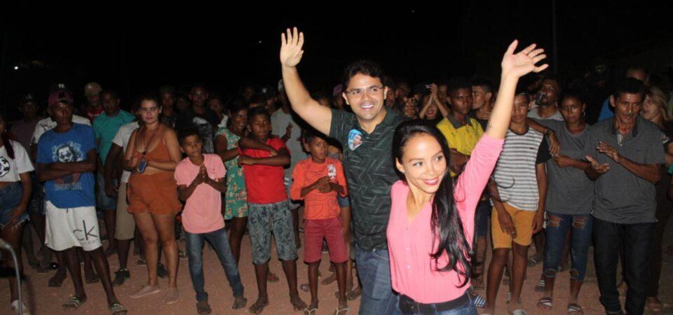 Bruno Silva participa do lançamento das candidaturas a vereadores de Vanessa Dutra e Diones Santos
