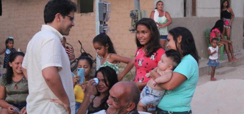 Bruno Silva participa de visitas e reuniões nos povoados Mulatas, Curupati e Santo Inácio