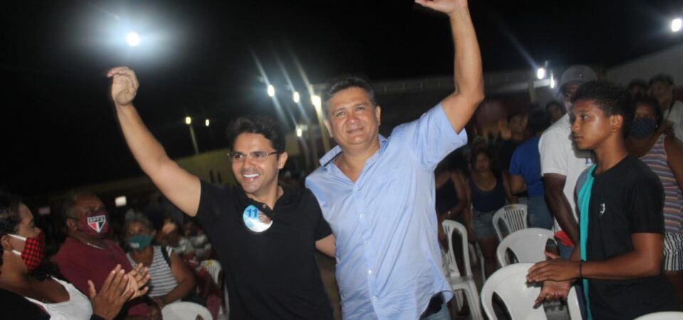 Com Bruno Silva, Cláudio Furtado mostrou forte apoio popular durante lançamento de candidatura a vereador em Coelho Neto