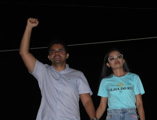 Bruno Silva participa de evento da candidata a vereadora Karla Gomes no povoado Buenos Aires