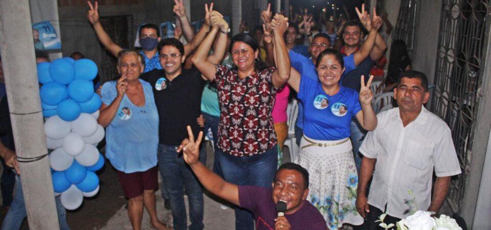 Bruno Silva participa de reuniões dos candidatos Lidiane Bastos e Cássio Sousa